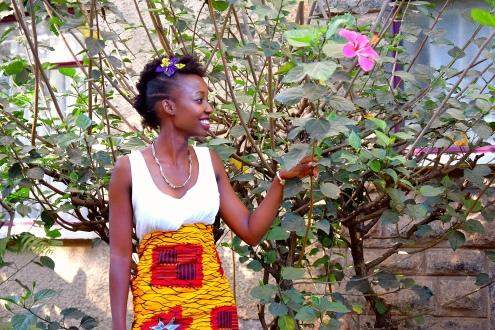 Joyce Waithira Kamau, 25, Field Officer in a behavioural economics research company